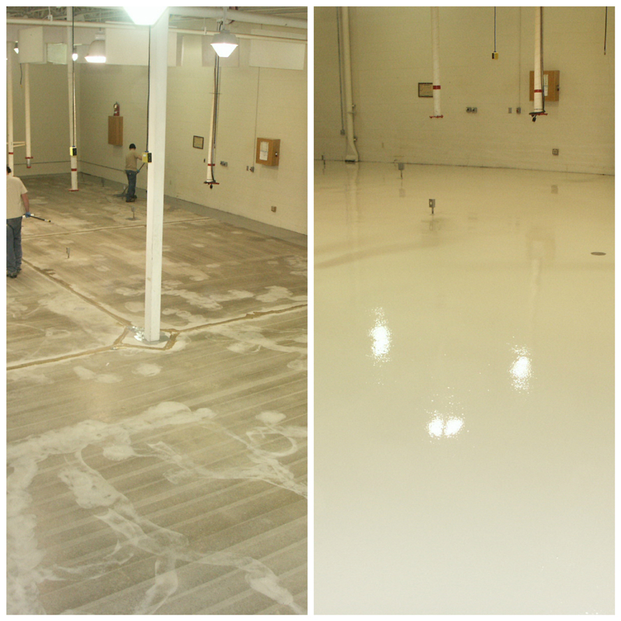 Epoxy And Urethane Cement Resinous Flooring Denver